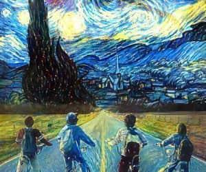 art, stranger things, and netflix image