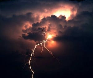 lighting, nature, and storm image