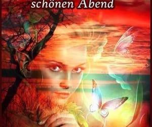abend, grüße, and wunsche image