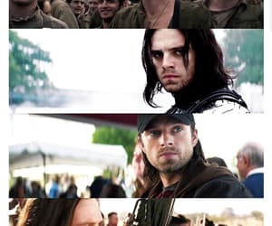 bucky, Marvel, and captain america image