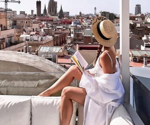 fashion, book, and summer image