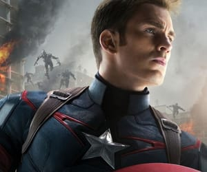 captain america, Avengers, and chris evans image