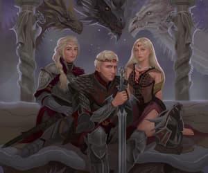 game of thrones and house targaryen image