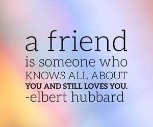 words, friend, and quote image