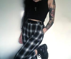 alternative, fashion, and grunge image
