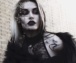 beauty, gothic, and fashion image