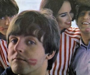 Paul McCartney, the beatles, and george harrison image