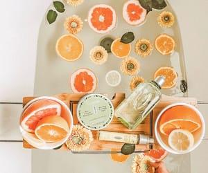 orange and bath image