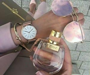 fashion, pink, and perfume image