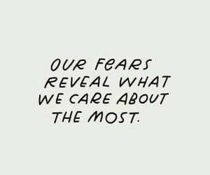 quotes, fear, and care image