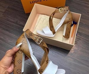 shoes, heels, and Louis Vuitton image