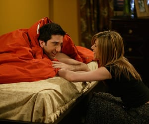 boy, David Schwimmer, and girl image