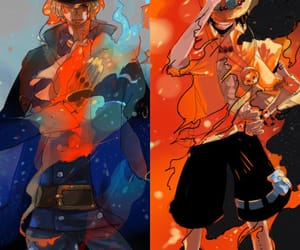 ace, one piece, and sabo image