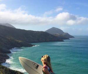 beach, beautiful, and health image