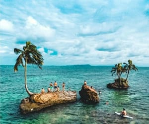 Island, ocean, and tropical image