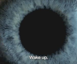 eye, wake up, and blue image