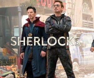 Marvel, iron man, and sherlock image