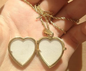 heart, aesthetic, and gold image