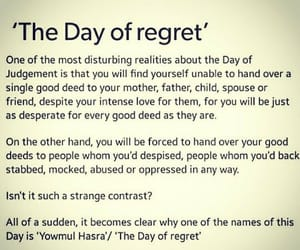 islam, muslim, and regret image