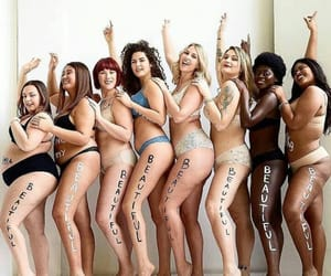beautiful, girls, and love yourself image