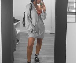 dress, goals, and mirror selfie image