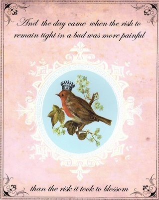 beautiful words and birds image