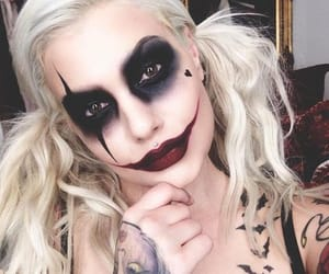 makeup, Halloween, and costume image