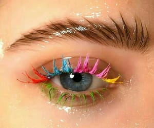 makeup, beauty, and glossy image