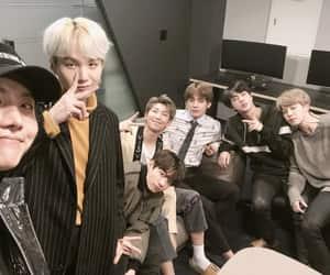 bts, min yoongi, and kim seokjin image