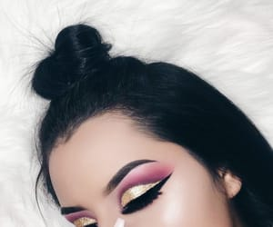 aesthetic, tumblr, and make-up image