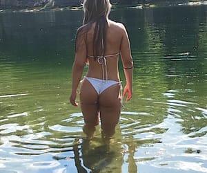 bath, me, and bikini image