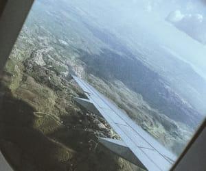 airplane, love, and madrid image