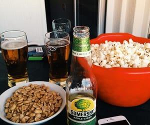 beer, drink, and food image