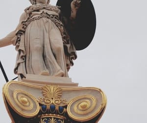 athena, aesthetic, and statue image