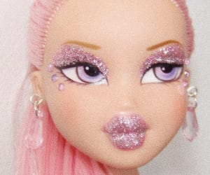 pink, doll, and bratz image