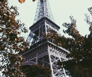 eiffel tower, francais, and france image