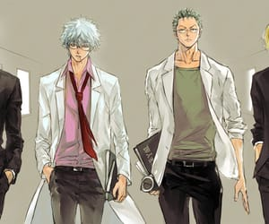 gintama, one piece, and anime image