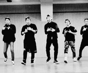 gif, dance practice, and mark tuan image