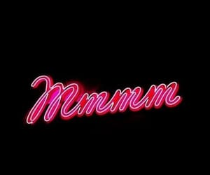 mmmm, neon, and phrases image