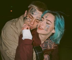couple, tattoo, and cute image