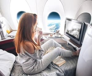 travel, airplane, and goals image