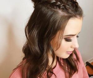 cabelo, cabelos, and moda image