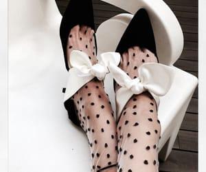 black, black heels, and heals image