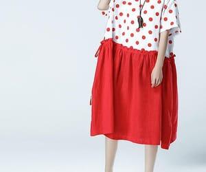 linen dress, long dress, and women maxi dress image