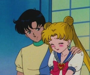90s, cartoon, and sailor moon image