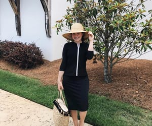 beach, dress, and modest image