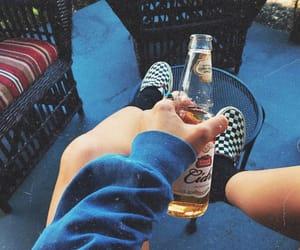 beer, vans, and stella artois image