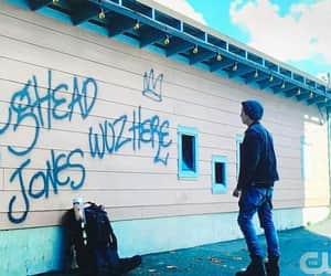 boy, graffiti, and riverdale image