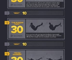 fitness, workout, and health image