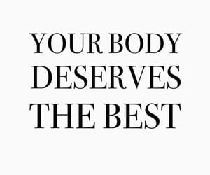 body, quotes, and motivation image